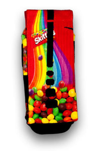 Skittles Custom Elite Socks - CustomizeEliteSocks.com - 3