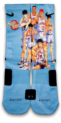 Slam Dunk Custom Elite Socks - CustomizeEliteSocks.com - 2