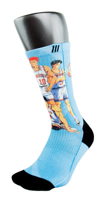 Slam Dunk CES Custom Socks - CustomizeEliteSocks.com - 3