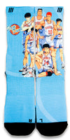 Slam Dunk CES Custom Socks - CustomizeEliteSocks.com - 1