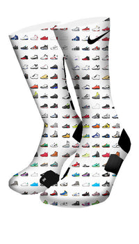 Shoemoji Custom Elite Socks - CustomizeEliteSocks.com - 4
