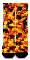 Solar Flares CES Custom Socks - CustomizeEliteSocks.com - 1