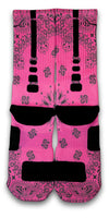 South Beach Bandana Custom Elite Socks - CustomizeEliteSocks.com - 2