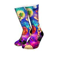 Space Jam Custom Elite Socks - CustomizeEliteSocks.com - 5