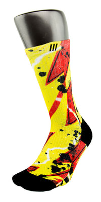Flash CES Custom Socks - CustomizeEliteSocks.com - 3
