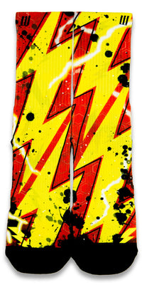 Flash CES Custom Socks - CustomizeEliteSocks.com - 1