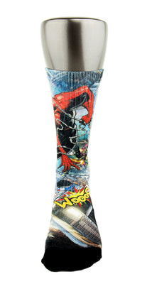 Spiderman 2 CES Custom Socks - CustomizeEliteSocks.com - 2