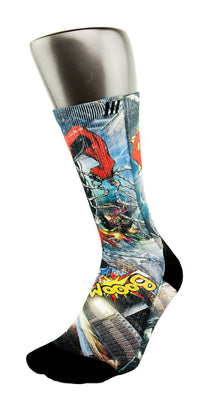 Spiderman 2 CES Custom Socks - CustomizeEliteSocks.com - 3