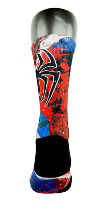 Spidey Sense CES Custom Socks - CustomizeEliteSocks.com - 4