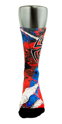 Spidey Sense CES Custom Socks - CustomizeEliteSocks.com - 2