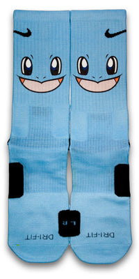 Squirtle Custom Elite Socks - CustomizeEliteSocks.com - 1