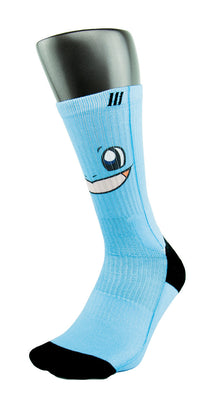 Squirtle CES Custom Socks - CustomizeEliteSocks.com - 3