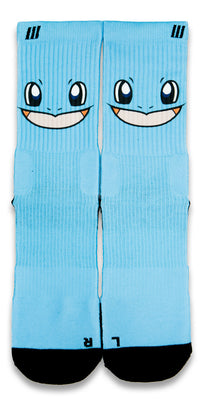 Squirtle CES Custom Socks - CustomizeEliteSocks.com - 1