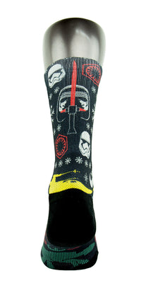 Star Wars Ugly Sweater CES Custom Socks - CustomizeEliteSocks.com - 4
