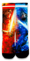 Star Wars VII CES Custom Socks - CustomizeEliteSocks.com - 1