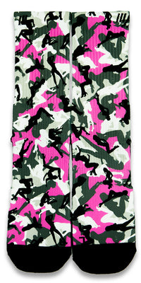 Stripper Camo CES Custom Socks - CustomizeEliteSocks.com - 1