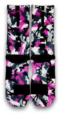 Stripper Camo Custom Elite Socks - CustomizeEliteSocks.com - 3