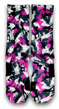 Stripper Camo Custom Elite Socks - CustomizeEliteSocks.com - 2