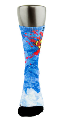 Superman CES Custom Socks - CustomizeEliteSocks.com - 2
