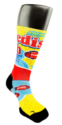 Swedish Fish CES Custom Socks - CustomizeEliteSocks.com - 3