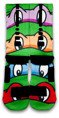 TMNT Custom Elite Socks - CustomizeEliteSocks.com - 3