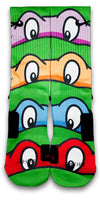TMNT Custom Elite Socks - CustomizeEliteSocks.com - 1