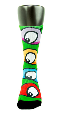TMNT CES Custom Socks - CustomizeEliteSocks.com - 2