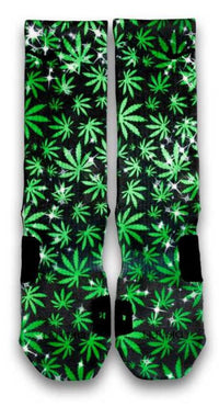 The Chronic Custom Elite Socks - CustomizeEliteSocks.com - 2