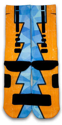The Diamond Blueprint Custom Elite Socks - CustomizeEliteSocks.com - 3