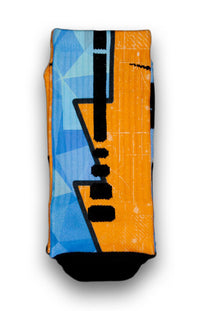 The Diamond Blueprint Custom Elite Socks - CustomizeEliteSocks.com - 1