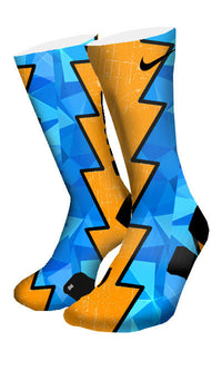 The Diamond Blueprint Custom Elite Socks - CustomizeEliteSocks.com - 4