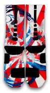 The Rising Koi Custom Elite Socks - CustomizeEliteSocks.com - 3