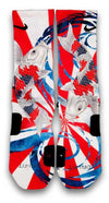 The Rising Koi Custom Elite Socks - CustomizeEliteSocks.com - 2