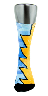 The Diamond Blueprint CES Custom Socks - CustomizeEliteSocks.com - 2