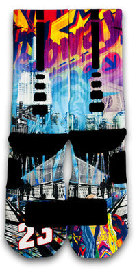 The Empire City Custom Elite Socks - CustomizeEliteSocks.com - 2