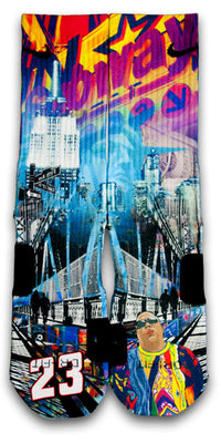 The Empire City Custom Elite Socks - CustomizeEliteSocks.com - 1