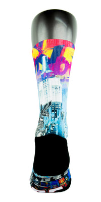 The Empire City CES Custom Socks - CustomizeEliteSocks.com - 4