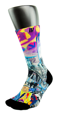The Empire City CES Custom Socks - CustomizeEliteSocks.com - 3
