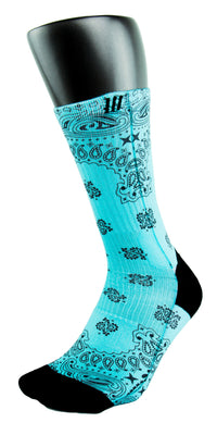 Tiffany Bandana CES Custom Socks - CustomizeEliteSocks.com - 3