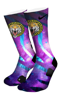 Tiger Heads Custom Elite Socks - CustomizeEliteSocks.com - 4