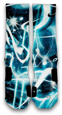 Light Speed Custom Elite Socks - CustomizeEliteSocks.com - 1