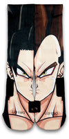 Vegeta Custom Elite Socks - CustomizeEliteSocks.com - 1
