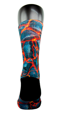 Volcanic Lava CES Custom Socks - CustomizeEliteSocks.com - 4
