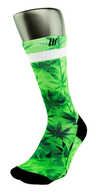 The Chronic CES Custom Socks - CustomizeEliteSocks.com - 3