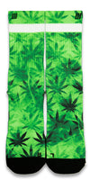 The Chronic CES Custom Socks - CustomizeEliteSocks.com - 1