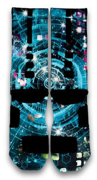 Warp Speed Custom Elite Socks - CustomizeEliteSocks.com - 3
