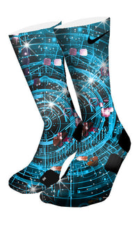 Warp Speed Custom Elite Socks - CustomizeEliteSocks.com - 4