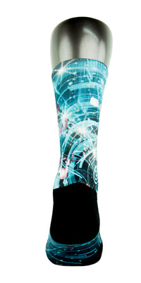Warp Speed CES Custom Socks - CustomizeEliteSocks.com - 4