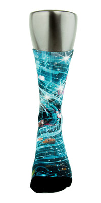 Warp Speed CES Custom Socks - CustomizeEliteSocks.com - 2
