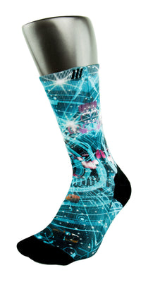 Warp Speed CES Custom Socks - CustomizeEliteSocks.com - 3